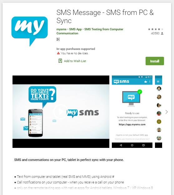 MySMS